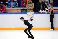 «Все пошло не по плану». Загитова и Медведева встретились на московском льду