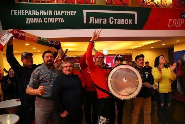 Медалей гора. «Дом спорта» праздновал Новый год и победы российских спортсменов