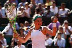 Лучший подарок – финал! Остапенко победила Бачински на «Ролан Гаррос»