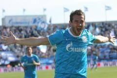 Кержаков: как я начинал играть в футбол