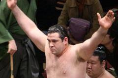 Сумоист из России Габараев одержал седьмую победу над грузинским борцом