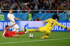 Швейцария одержала волевую победу над Сербией в матче ЧМ-2018