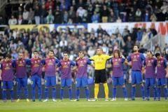 Испанская примера. 28-й тур. «Севилья» уступила «Барселоне», «Малага» ушла от поражения в матче с «Реалом» и другие матчи
