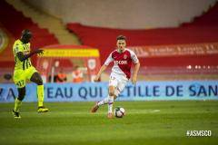 «Монако» уступил «Анже», Головин провел на поле все 90 минут встречи