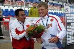 Победитель этапа кубка мира Юрий Постригай: Мое весло сломалось пополам!