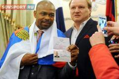 Камил Гаджиев: Получение Роем Джонсом российского паспорта – клоунада