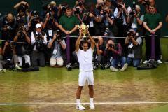 Как стать легендой. Федерер – 8-кратный чемпион Уимблдона
