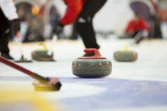 В Дудинке проходит турнир по керлингу WTC Arctic Cup