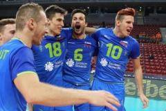 Словения обыграла Италию и вышла в финал чемпионата Европы по волейболу