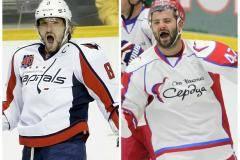 Кто круче: Овечкин - самый популярный хоккеист мира или Радулов, рок-звезда КХЛ?