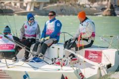 Второй этап Национальной парусной Лиги выиграла команда Navigator Sailing Team