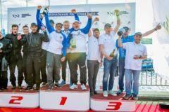 Команда Navigator Sailing Team выиграла третий этап Национальной парусной Лиги