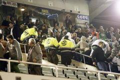 Фанаты «Расинга» атаковали президента клуба в VIP-ложе (видео)
