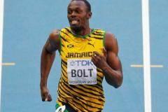 Усэйн Болт первенствовал на 200-метровке на чемпионате мира в Москве