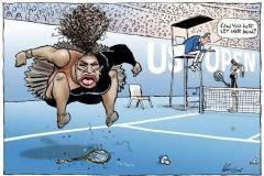 Новый карикатурный скандал: Серену нельзя рисовать черной и капризной!