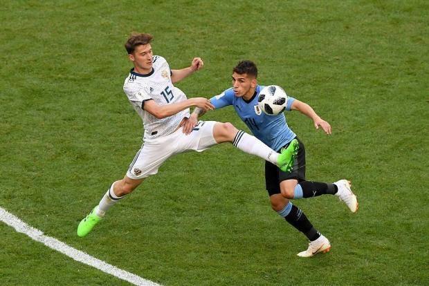 Миранчук потерялся уже на 1-й минуте. Наш резерв против Уругвая – это провал