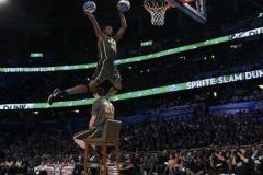 NBA All-Star Weekend. Джереми Эванс выиграл конкурс по броскам сверху [ВИДЕО]