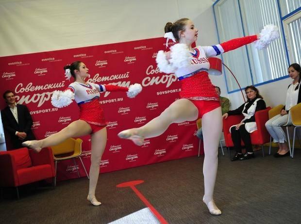 За день до медалей: российские чирлидеры готовы побеждать на чемпионате в Москве
