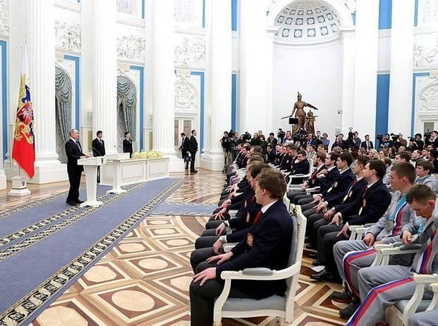«Характер забрать невозможно». Путин вручил награды олимпийцам