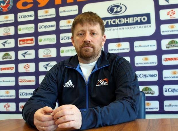 Главным тренером «Байкала-Энергии» стал Андрей Рушкин