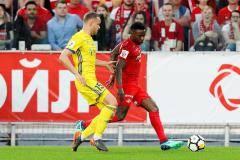 Мельгарехо и Промес принесли победу «Спартаку» в матче с «Ростовом»