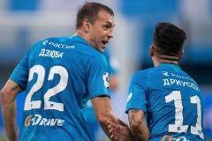 Дзюба с «Зенитом» задвинули «Спартак», а Смолов снова остался без голов
