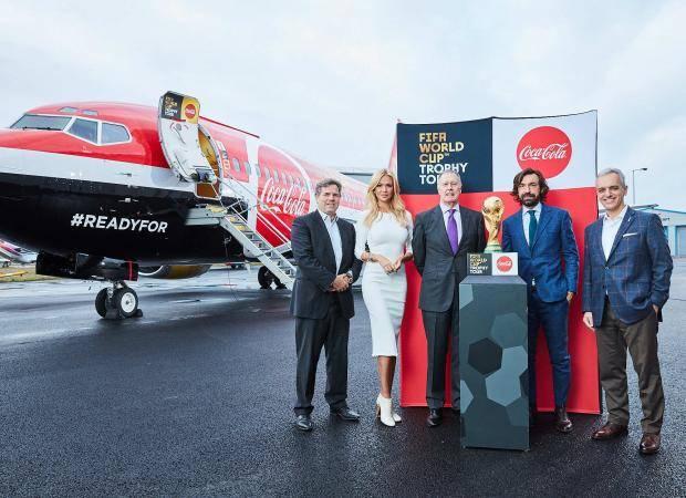 В Лондоне стартовал международный этап тура кубка чемпионата мира по футболу FIFA 2018 с Coca-Cola