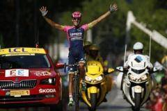 «Тур де Франс» штурмует Альпы