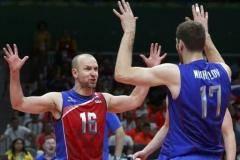 Россия обыграла Польшу в пяти партиях на Олимпиаде в Рио