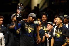 Дюрант признан MVP финальной серии НБА