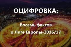 Оцифровка: Юбилей «Зенита», антирекорд и еще 6 фактов о новой Лиге Европы