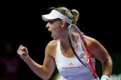 Кербер завершила год на первом месте в рейтинге WTA