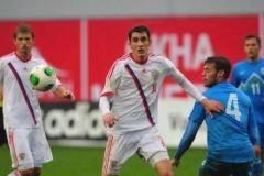 Россия и Болгария сыграли вничью в матче отборочного турнира молодежного ЧЕ (видео)