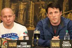 Бой Федора Емельяненко и Чела Соннена состоится 14 октября
