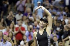Шарапова царит на корте Артура Эша, а Федерер шокирует Кирьоса. Ночь на US Open