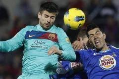 Испанская Примера. 33-й тур. «Барселона» разгромила «Хетафе»,  хет-трик Роналду помог «Реалу» обыграть «Атлетико» и другие матчи