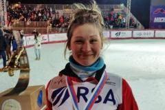 «Алина – нежданчик!» Как Гриднева взяла золото Кубка мира по фристайлу в Москве