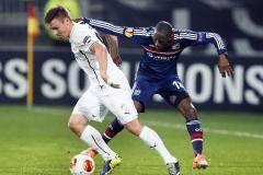 «Лион» с минимальным счетом проиграл «Виктории», но вышел в четвертьфинал Лиги Европы
