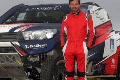 Андре Виллаш-Боаш попал в больницу после аварии в пустыне