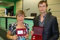 Богалий-Титовец и Третьяков получили награды от РЖД