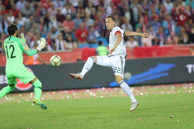 Валерий Рейнгольд: Дзюба провел лучший матч в карьере