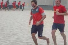 «Сычеву бег по песку в диковинку». Как бывший футболист ушел в пляжный футбол