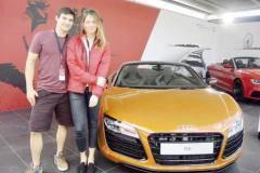 Олимпийские машины подарили мамам