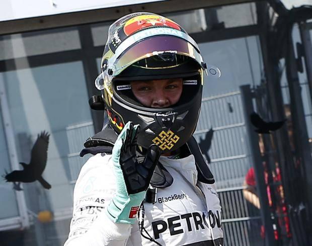 Росберг выиграл квалификацию Гран-при Германии, Квят - восьмой