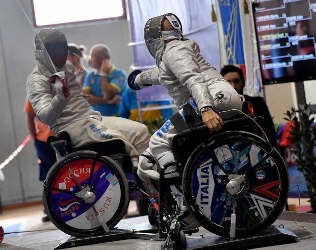 Представитель Кубани успешно выступил на Кубке мира по фехтованию на колясках в Польше