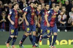 Примера. 11-й тур. «Барселона» обыграла «Мальорку», «Реал» вырвал победу у «Леванте» и другие матчи