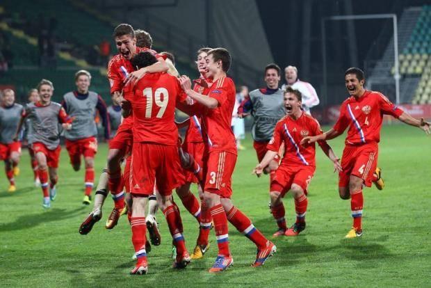 Российские юноши - чемпионы Европы!