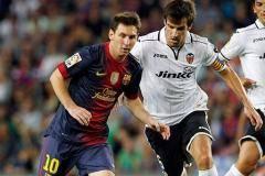 Примера. 22-й тур. «Валенсия» сыграла вничью с Барселоной», «Реал» проиграл «Гранаде» и другие матчи