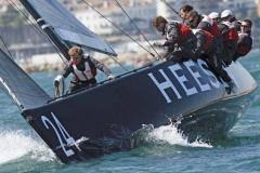 Трое влодке. Наш корреспондент встретил  яхту «Синергия» после гонки ипомог привести лодку впорядок