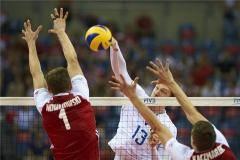 Волейболисты сборной России проиграли Польше во втором матче Лиги наций